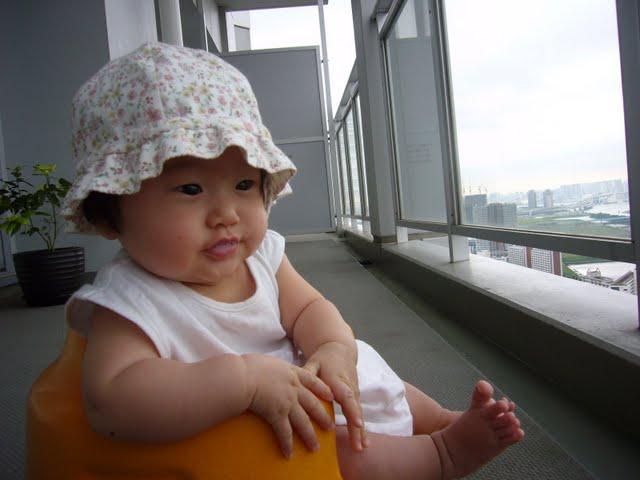 ▲幼少のころの写真。娘となぜかそっくり。
